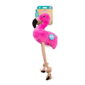 Peluche & Canapa Cane Beco Flamingo Large