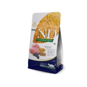 N&D Ancestral Grain con Agnello, Farro, Avena e Mirtillo Farmina