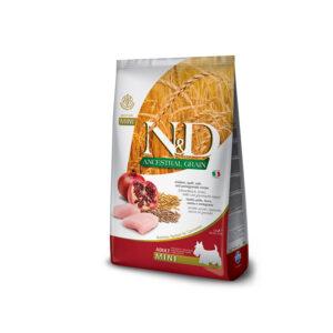 N&D Ancestral Grain Pollo, Farro, Avena, Melograno Farmina