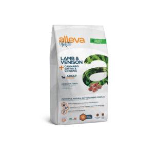 Alleva Holistic Lamb & Venison + Cannabis Sativa & Gingseng