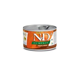 N&D Pumpkin Cervo e Zucca Farmina