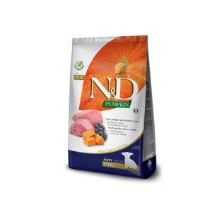 N&D Pumpkin Agnello, Zucca, Mirtillo Farmina
