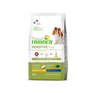 Natural Trainer Sensitive Plus con cavallo-riso-olio