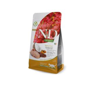 N&D Quinoa Skin & Coat con Quaglia, Quinoa, Cocco e Curcuma Farmina