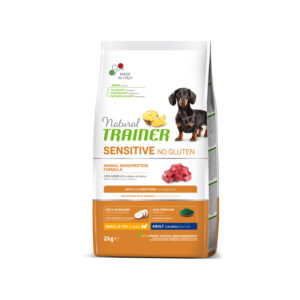 Natural Trainer Sensitive No Gluten con Agnello