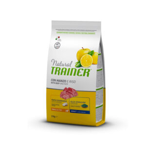 Natural Trainer con Manzo e Riso