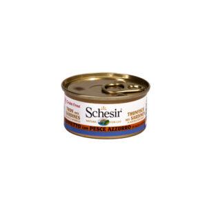 Tonnetto con pesce azzurro in salsa naturale Schesir 70gr