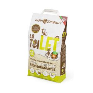 Lettiera Biodegradabile LaToilet Farm Company 10lt
